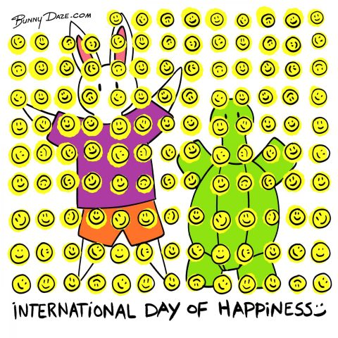 International Day of Happiness :)
