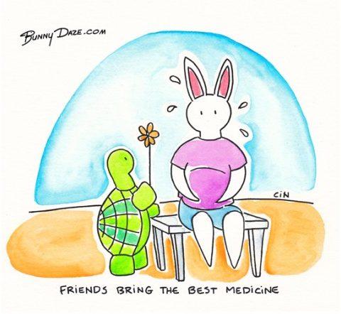 Friends bring the best medicine