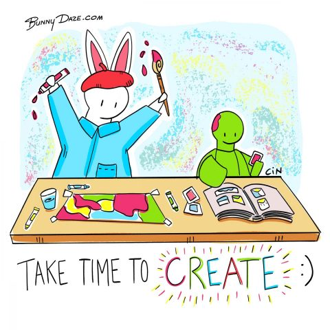 Take Time To Create :)