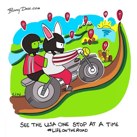 See the USA one stop at a time #lifeontheroad