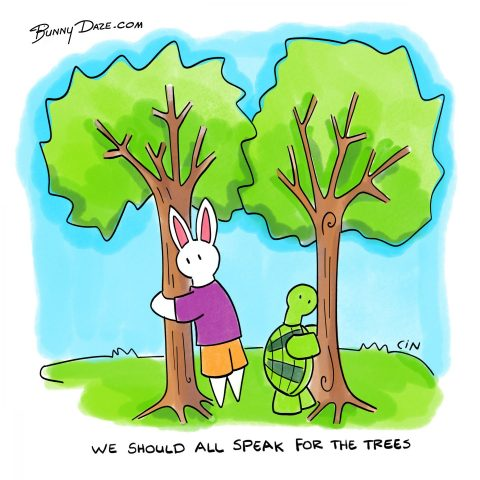 We Should All Speak For The Trees