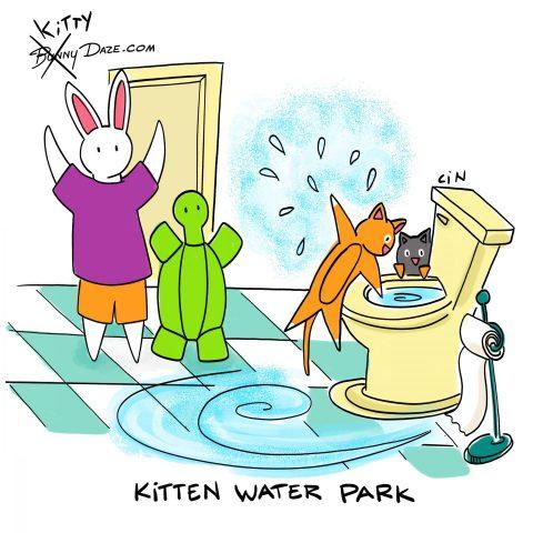 Kitten Water Park