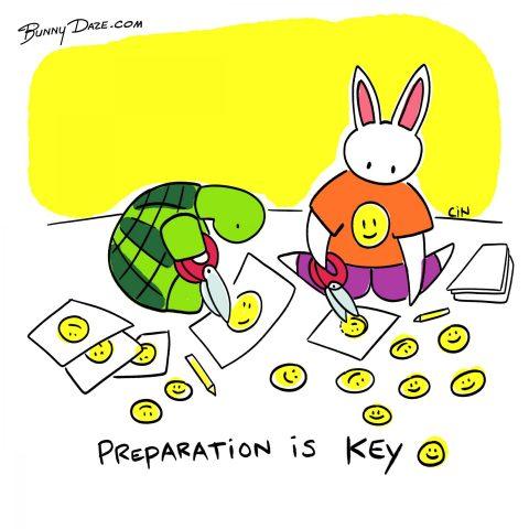 Preparation is Key :)