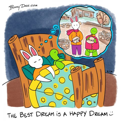 The best dream is a happy dream :)