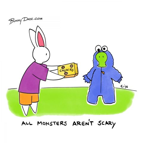 All Monsters Aren't Scary