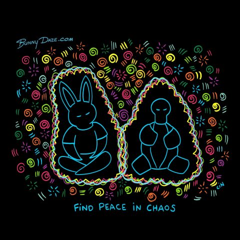 Find peace in chaos