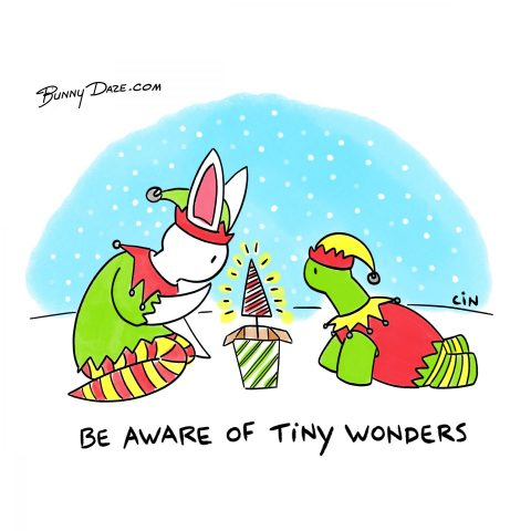 Be aware of tiny wonders