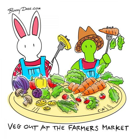 Veg out at the farmers market :)