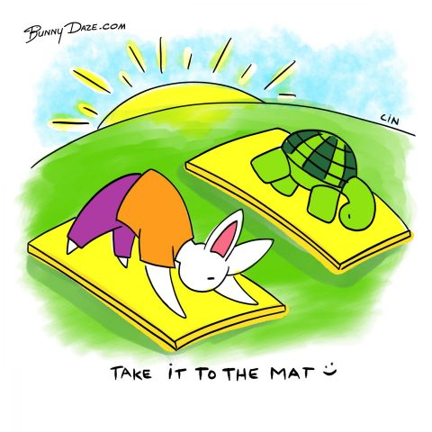 Take it to the mat :)