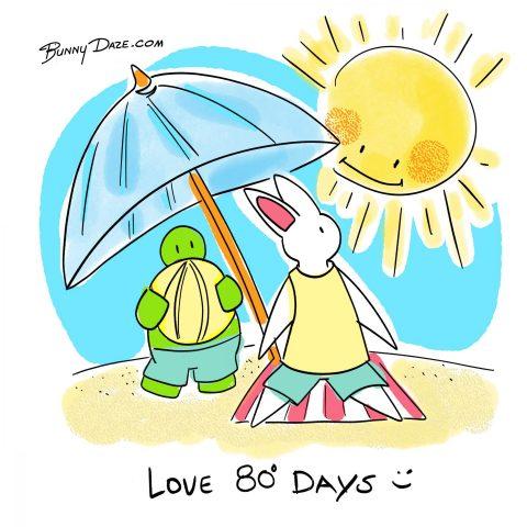 Love 80º Days ☀️
