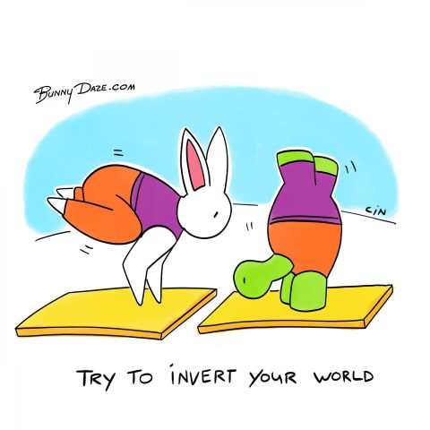 Try to invert your world
