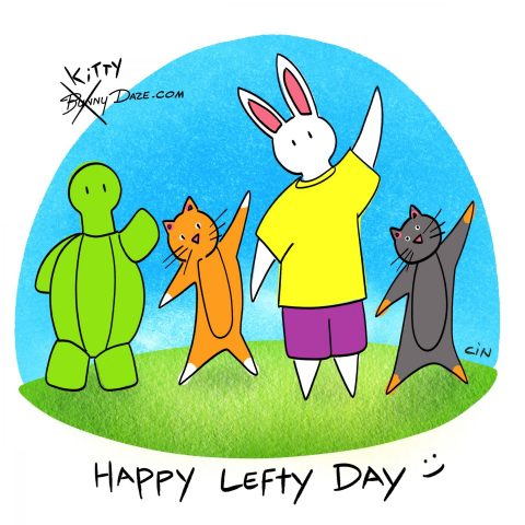 Happy Lefty Day :)