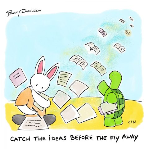 Catch the ideas before they fly away