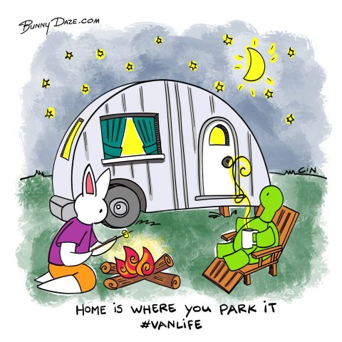 Home is where you park it #vanlife