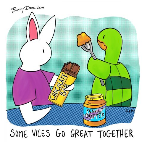 Some Vices Go Great Together :)
