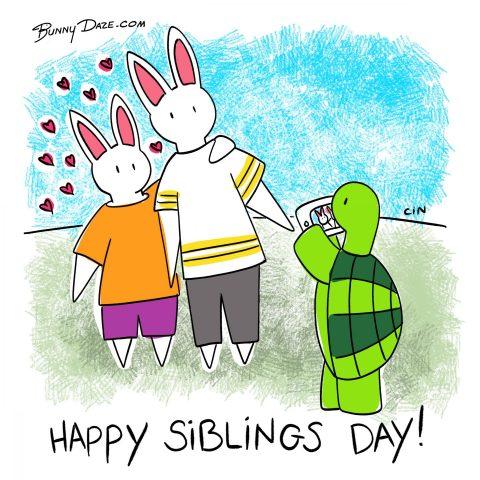 Happy Siblings Day!