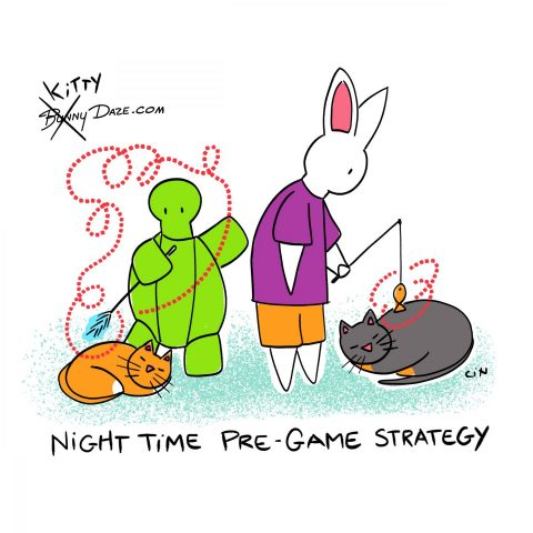 Night Time Pre-Game Strategy
