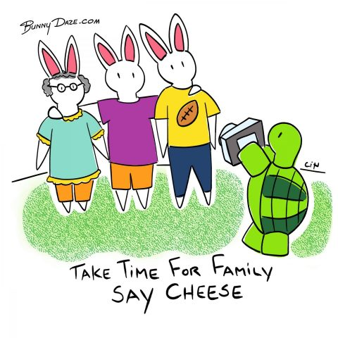 Take time for family…say Cheese