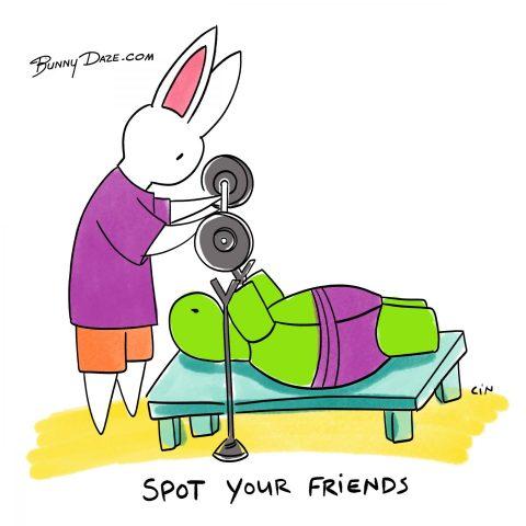 Spot Your Friends
