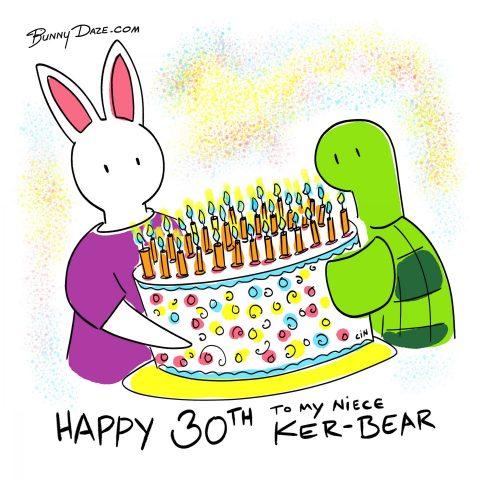 Happy 30th to my niece Ker-Bear