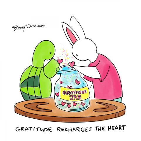 Gratitude Recharges The Heart