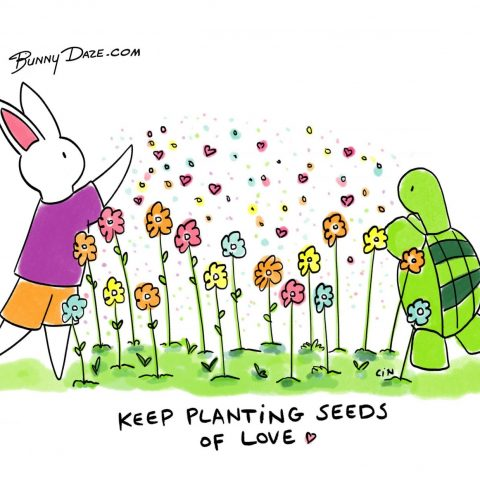 Keep Planting Seeds Of Love ❤️