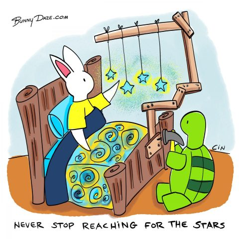 Never Stop Reaching for the Stars