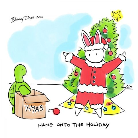 Hang onto the Holiday