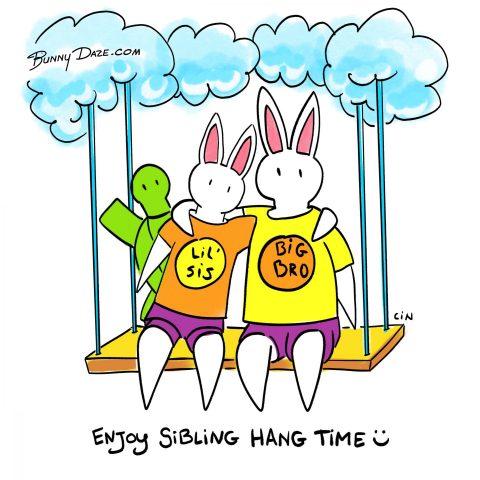 Enjoy Sibling Hang Time