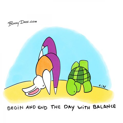 Begin and End the Day with Balance