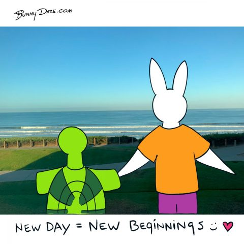 New Day = New Beginnings