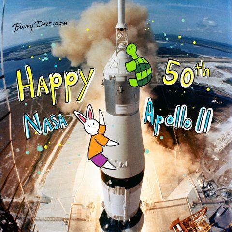 Happy 50th NASA Apollo 11