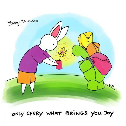 Only Carry What Brings You Joy