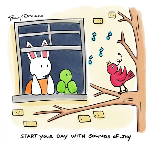 Start your day with sounds of joy