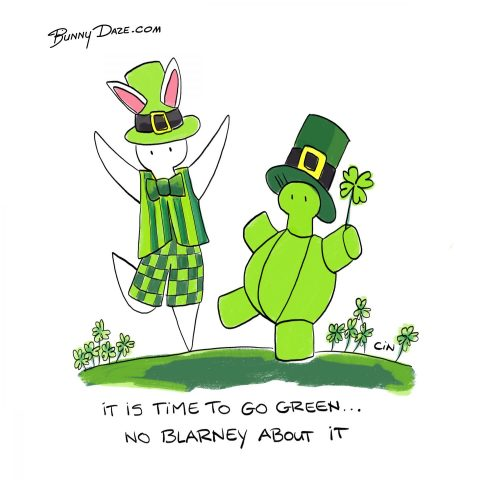 It is time to go green…no blarney about it