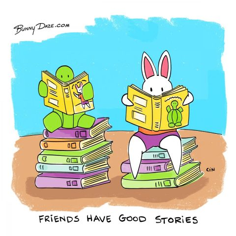 Friends have good stories