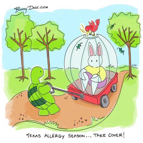 Texas Allergy Season…Take Cover!