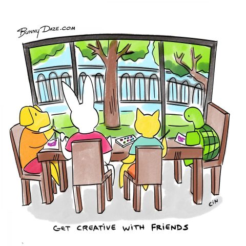 Be Creative With Your Friends