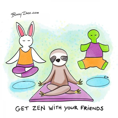 Get Zen With Your Friends