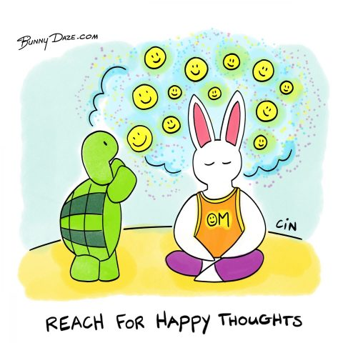 Reach for Happy Thoughts