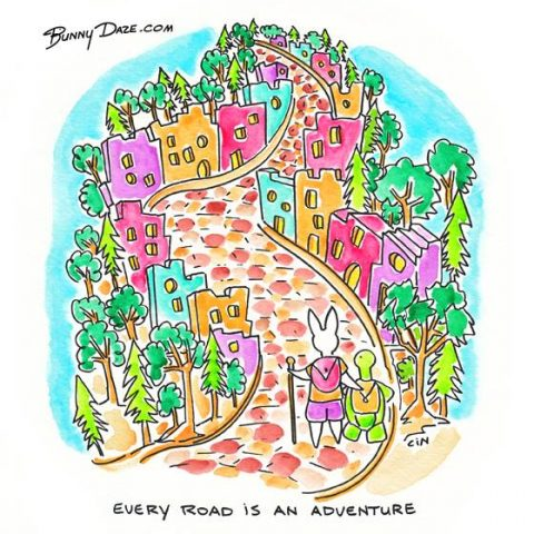 Oldie but a goodie! Every Road is an Adventure!